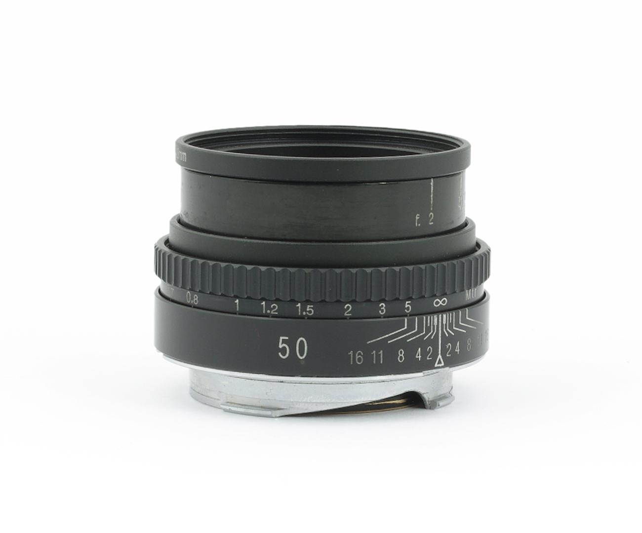 Ernemann-Anastigmat-Ernostar-2-50-mm-170363-Leica-M-Lens Indexbild 2