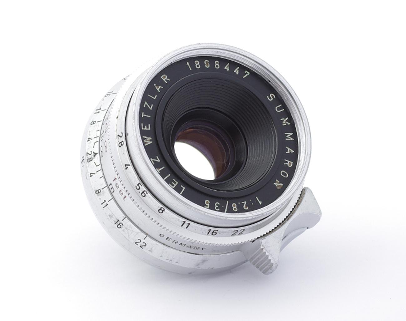 Leica-SM-Summaron-2-8-35-mm-1808447-Germany-LTM-L39-Lens Indexbild 2
