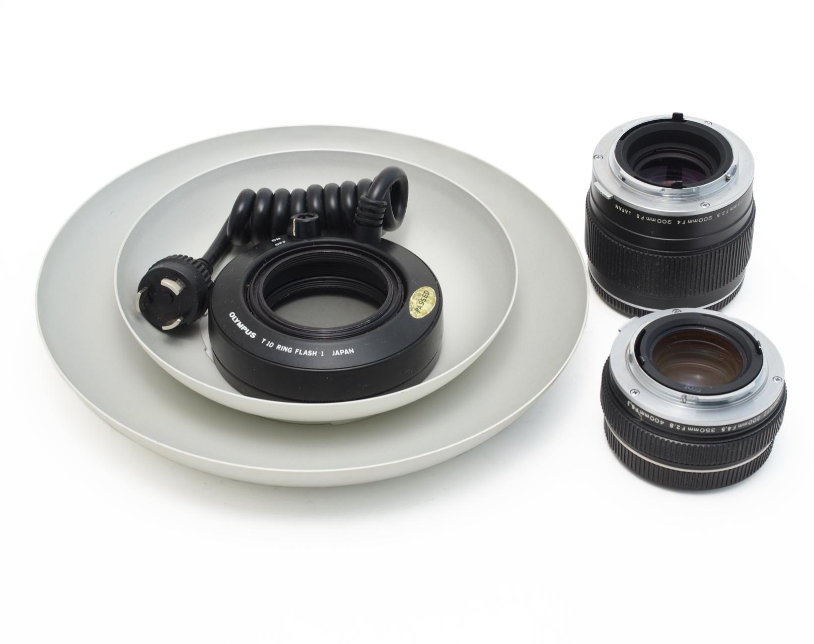 Lot-Olympus-Lenses-28mm-50mm-135mm-180mm-200mm-85-250mm-300mm Indexbild 6