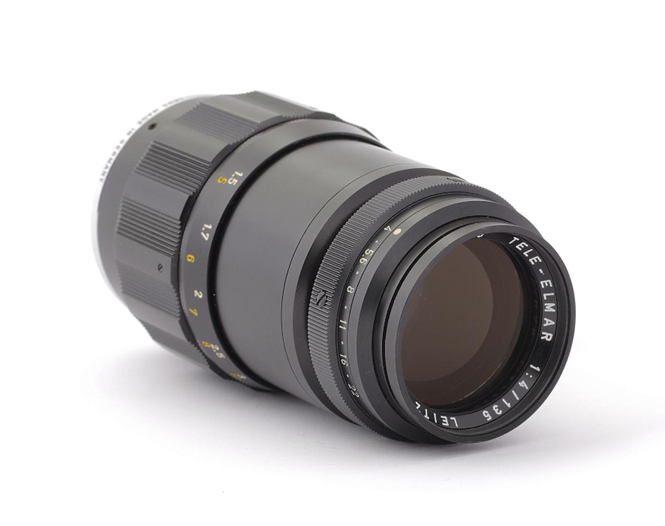 Leica-M-Tele-Elmar-4-135-mm-2207446-Germany-Lens Indexbild 2